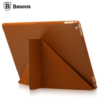 Baseus For IPad Pro 12 9 Inch Case Magnetic Slim Foldable Full Body Leather Cover Case