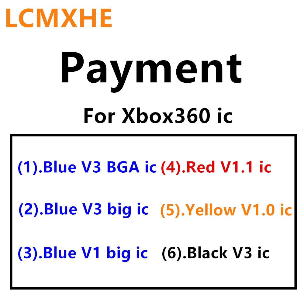 (10ピース)ブラックv3黄色v1.0赤v1.1ブルーv1ブルーv3 bga大きなic用xbox 360の修理部品  グループ上の 家電製品 からの 交換部品 & アクセサリー の中 1