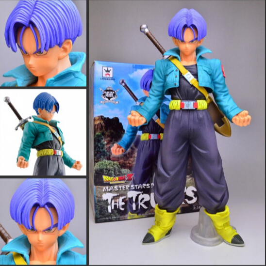BANPRESTO <font><b>Dragon</b></font> <font><b>Ball</b></font> <font><b>Z</b></font> <font><b>Trunks</b></font> <font><b>Figure</b></font> DXF <font><b>Dragon</b></font> <font><b>Ball</b></font> GT <font><b>Trunks</b></font> 24CM <font><b>Dragon</b></font> <font><b>Ball</b></font> <font><b>Z</b></font> Kai Collectible Model Toy Figuras DBZ