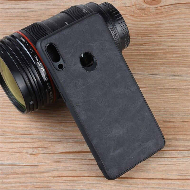 For Lenovo S5 Pro Case Lenovo K5 Pro Luxury Vintage Leather Skin Phone Cover For Lenovo K5Pro S5pro Case Funda Coque Capa