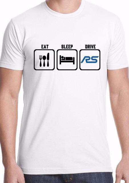 "Newest 2017 ""Eat Sleep Drive"" T-Shirt"