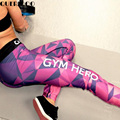 2017 Summer women's Scale leggings 3D sexy pants Digital High Waist Workout Polyester Bodybuilding print colorful Slim leggings