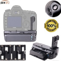 JINTU Camera Vertical Battery Grip Replacement For Canon BG E6 Grip For Canon EOS 5D Mark
