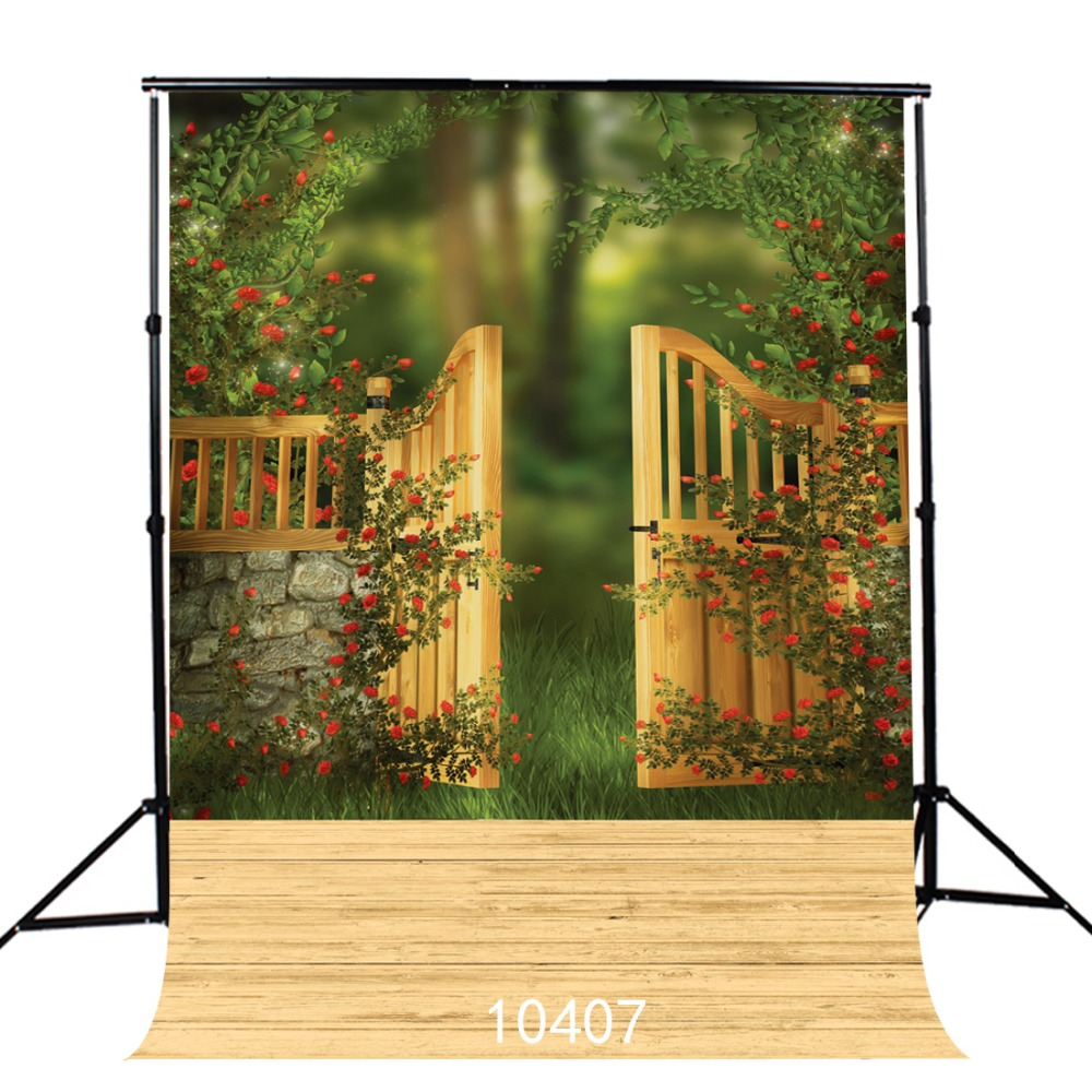 Natural Children photography background Flower door Fond studio photo vinyle Photography-studio-backdrop  Photo background children photography background wood backdrops snow photo background fond studio photo vinyle photography studio backdrop 5x7ft