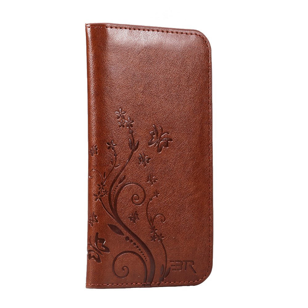 Universal Wallet Case for iPhone 6 6S Smartphone Flip Leather Cases Phone Pouch for 0-4.7 inches Phone Model