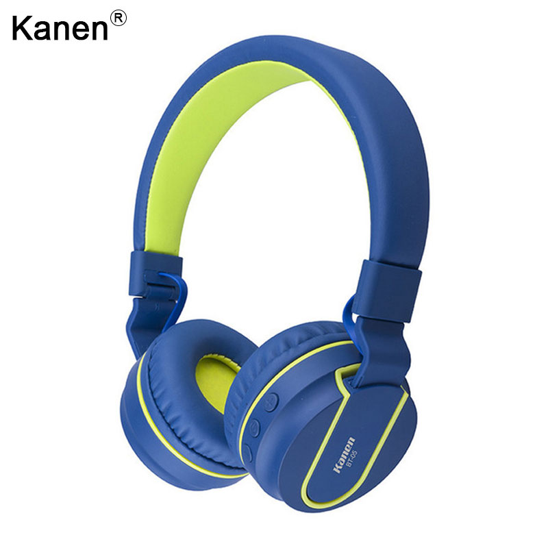 Kanen Bluetooth Stereo Headphone Cordless Auriculares Wireless Headset Hands Free for Head Phone Ear Bud 4.0 Earpieces for Girls  leegoal bluetooth headset stereo hand free mini auriculares earphone ear bud wireless headphone earbud handsfree for smartphone
