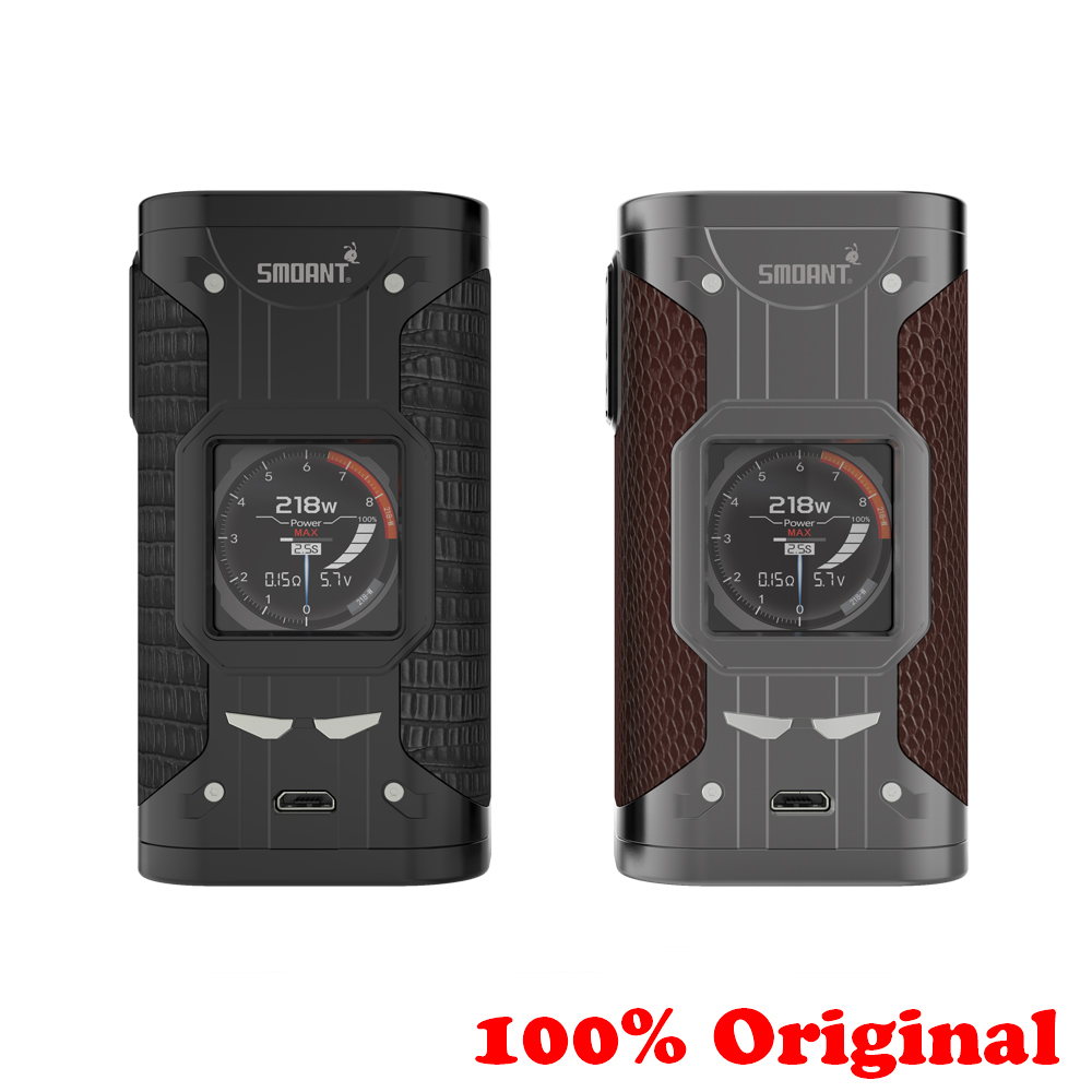 Original Smoant Cylon 218w Electronic Mod TC Electronic Cigarette 510 Thread Vape Mod With 1 3