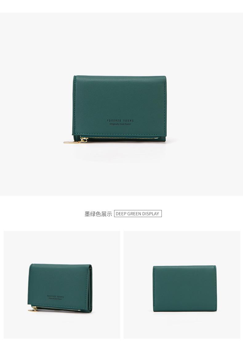 Женские кошельки с индивидуальным ID держатель для карт на молнии с карманом для монет дамские маленькие кошельки женский кошелек Carteira высокое качество