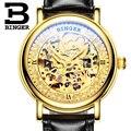 Switzerland BINGER мужские часы люксовый бренд автоматические мужские механические часы сапфир японский механизм Miyota reloj hombre B1107-2
