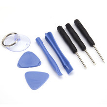 8 in 1 Opening Disassemble Repair Tool Kit Screwdriver Pry Set Kits for iPhone 4 4S 5 5S 5C 6 6s  for Samsung etc Mobile Phone