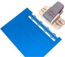 CADY Handwerk Punch Erfolg Werkzeuge Edger Punch, Blättern Muster, Extra Große, werkzeuge Rand Papier Punch (8722 3)