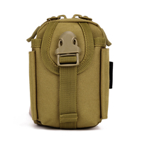 Military Tactical Accessory Bag Multifunctional Tool Pouch EDC Camouflage Waist Belt Pouches Packs Outdoor Climbing Bag