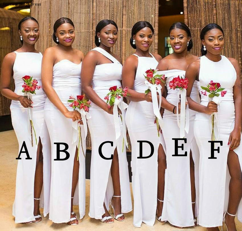 4fea0acbeac98 South African Bridesmaid Dresses Black Girls Summer Country Garden ...