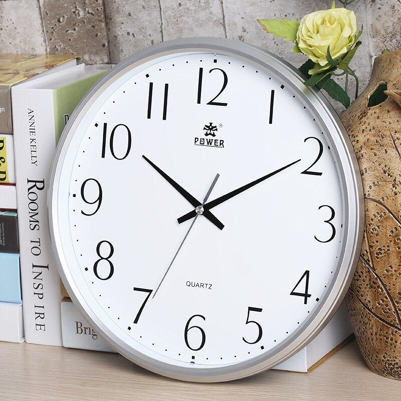 Zbrusu nový 13 palcový non-Ticking tiché nástěnné hodiny Quartz - Dekorace interiéru