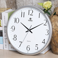 Brand New 13 inch Non-Ticking Silent Wall Clock Quartz Sweep Movement for Living room bedroom office school Clock