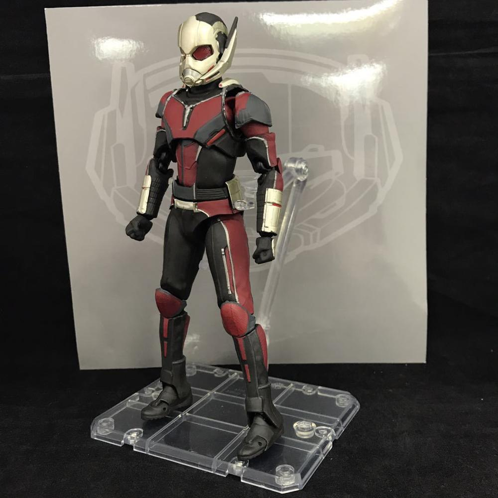 NEW hot 17cm avengers Ant-Man Black Panther movable Action figure toys doll collection Christmas gift new hot 18cm one piece rob lucci cp9 action figure toys collection christmas gift doll no box