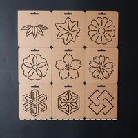 1pcs Flower Pattern Acrylic Template Patchwork Tools Handmade Quilting Stencil Craft Embroidery Template Sewing Accessories
