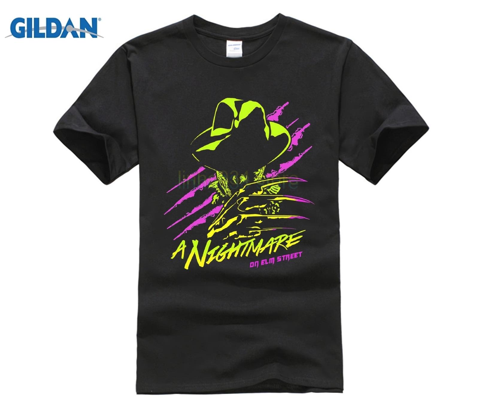 1a964113774 Icon Emoji Fashion Design T-Shirt Neon Freddy Krueger Nightmare On Elm  Street T-