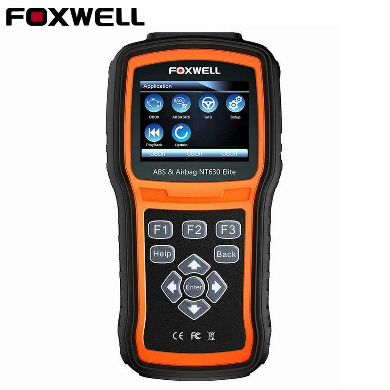 Foxwell NT630 Elite OBD2 ABS Automotive Scanner SRS AirBag Crash Data Reset Universal Diagnostic Tool Code