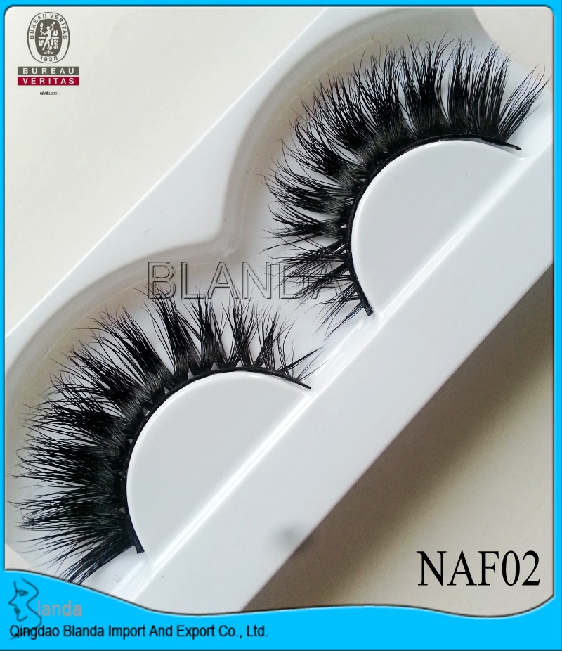 100% Handmade Real 3d Mink Fur False Eyelash Ups Free Shipping 2000pairs Full Strip Lashes False Eyelashes Mink Eyelashes Vendor False Eyelashes Beauty & Health