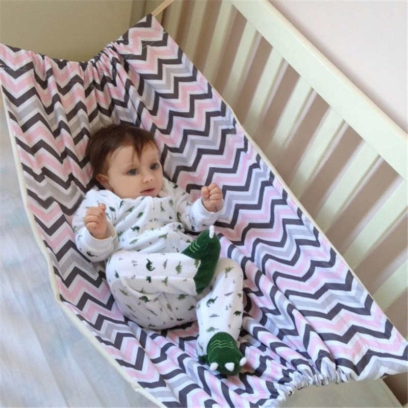 Newborn Baby Infant Removable Cotton Swing Hammock Portable Crib Hanging Sleeping Bed Home Outdoor Comfortable Bed Kit
