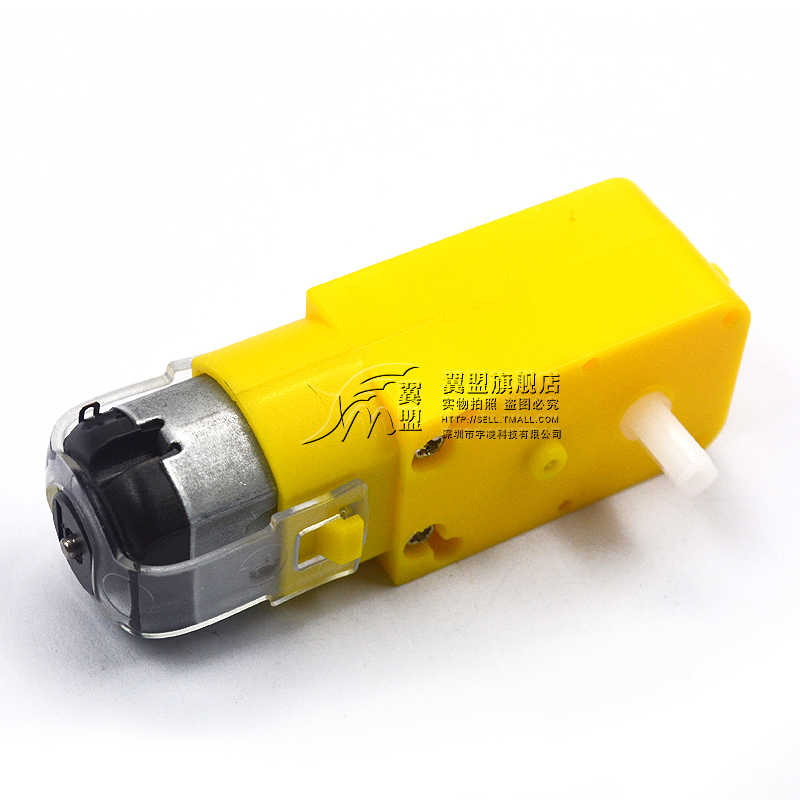 מנוע מנוע Dc3v-6v Dc הפחתת מנוע Tt מנוע אנטי שיבוש ארבעה גלגל כונן