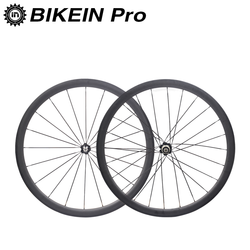 BIKEIN Ultralight 700C 3k Carbon Fiber Road Wheelset Cycling Bicycle Clincher Tubular Wheels 50mm Depth Rim Racing Bike Parts chauvet ezpin pack