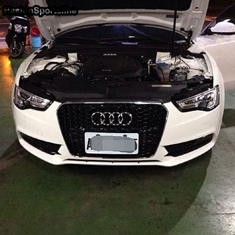 A6 Modified RS6 Style Front Engine Grill Grids for Audi A6 S6 RS6 S line 2012 2013 2014 2015