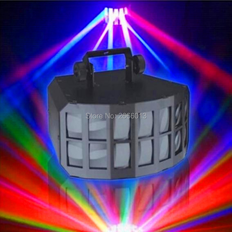 Niugul RGBW 4IN1 Beam Effect Stage Lighting,2x10W Professional KTV Bar Club Home Party DMX LED Double Butterfly DJ Disco Lights niugul rgbw led double butterfly 4in1 led stage effect lights party disco dmx512 led stage lamp dj equipment ktv party lights