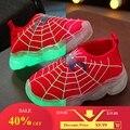 Светящиеся кроссовки для мальчиков и девочек  летние светящиеся кроссовки  повседневная обувь  модная спортивная обувь для девочек