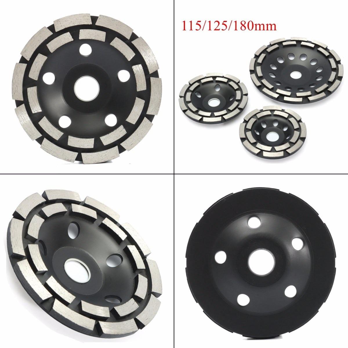 115 125 180 Mm Diamond Grinding Disc Abrasives Concrete