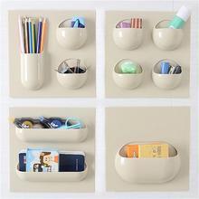 2017 NEUE Mehrzweck Wandpaste Lagerung Regal Hängen Bad Küche Veranstalter Racks Nahtlose Paste Starke Wiederverwendbaren Aufbewahrungsbox