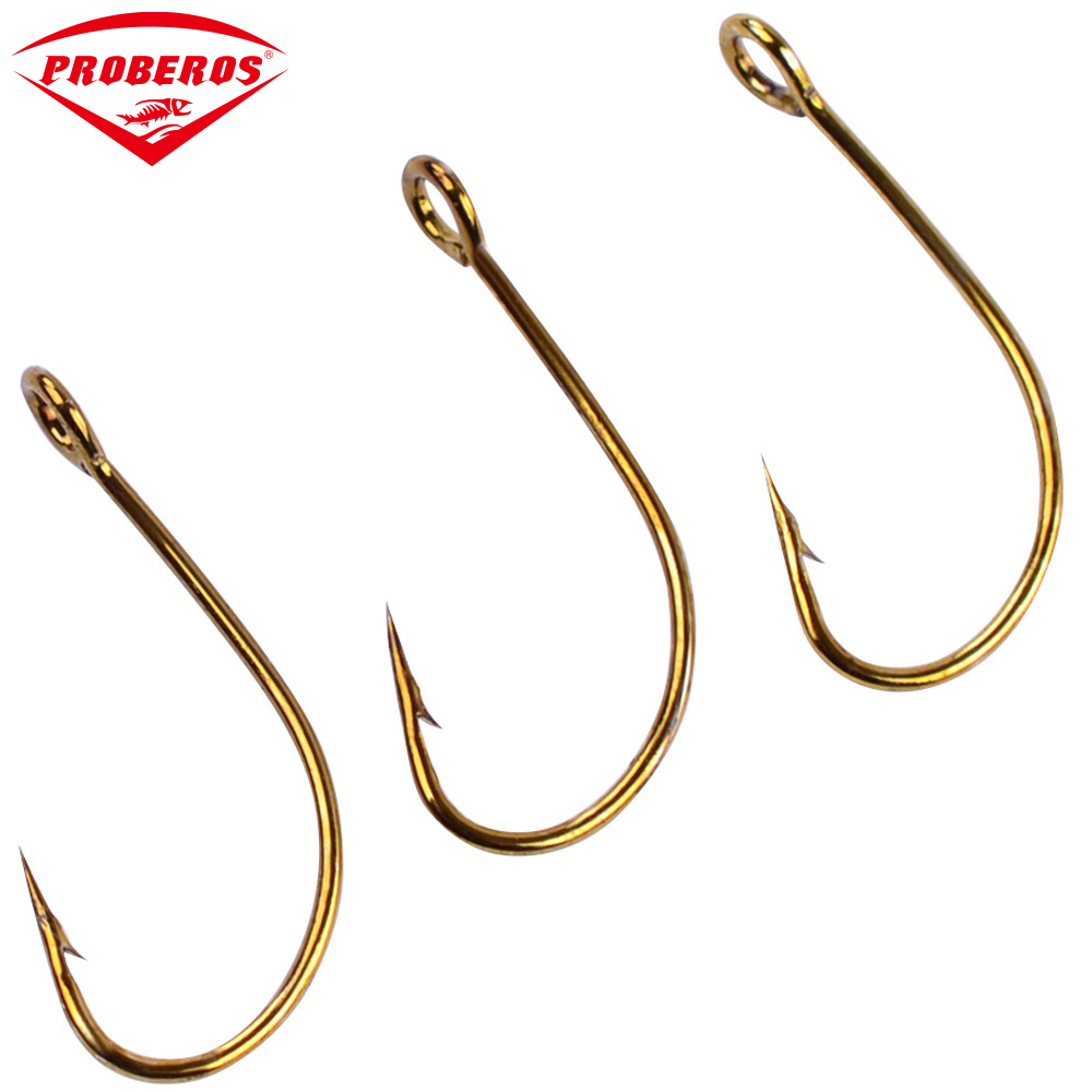 200pc barbed hook 72a material fishhook fly hooks fishing for Fish and hooks