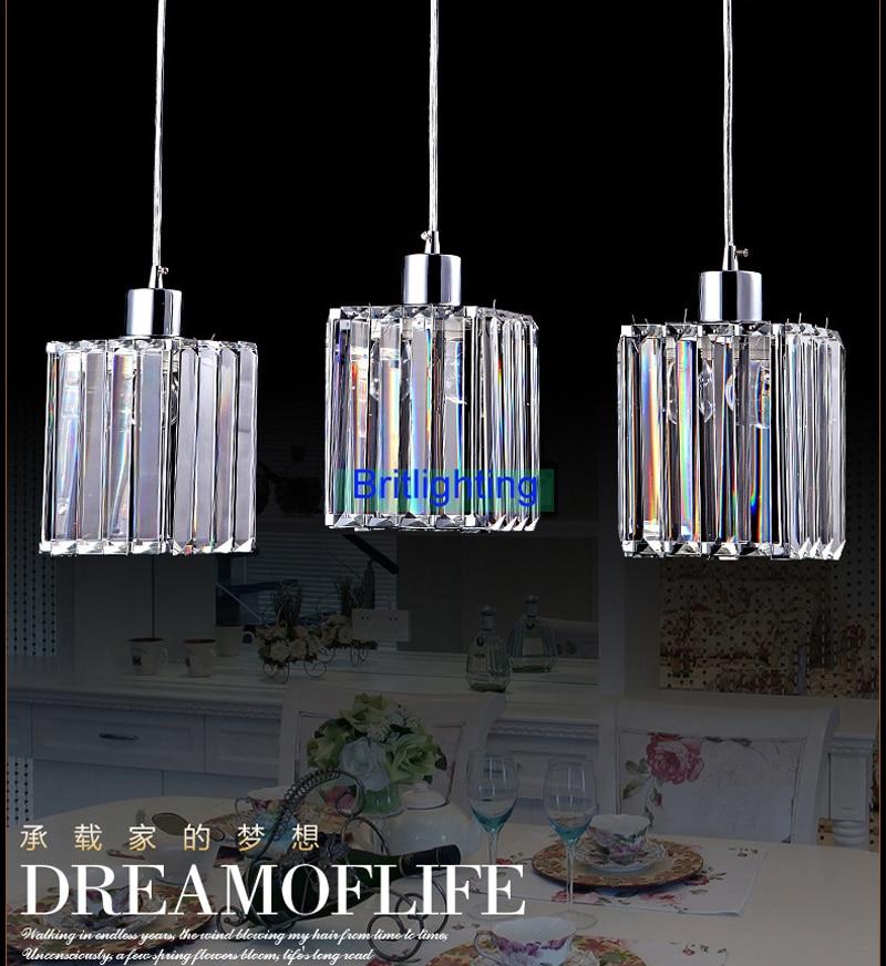 led pendant lamp cord modern restaurant lighting kitchen bar lights ...