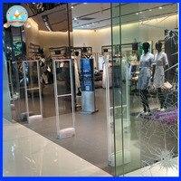 Acrylic Security Door Fashion Store Theft Alarm System Mono AM 58kHz Anti Shoplifting System Eas System