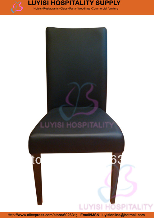 Stackable Upholstered Metal Dining Chair  LUYISI970-45