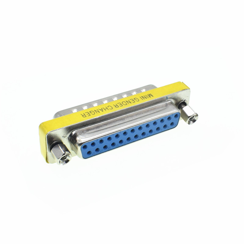 D-SUB DB25 Serial Cable Extended Adapter 25 Pin DB25 Male To Female M-F Minitype Changer Connector