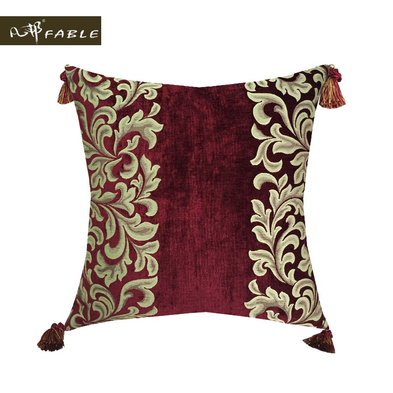 Decoration American Andrea Cushion Cover Velvet Pillowcase Throw Pillow Cover New Year Gift For Seat European style 40x60cm