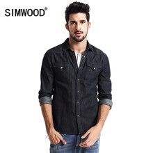 Camisa Masculina 2017 Casual Denim Jackets Men's Shirt  Cotton  New European and American Coats Long Sleeve Fashion CS1539