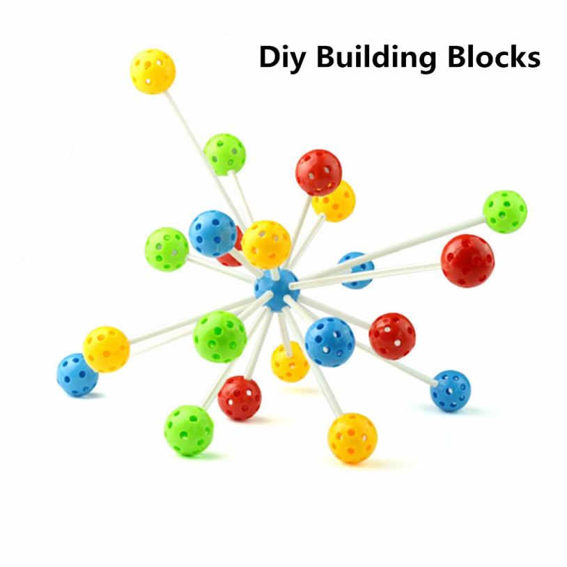 DIY Imagination Building Bricks Blocks Children Diy Building Blocks Toy Set For Kids Intelligence Educational Toys t211
