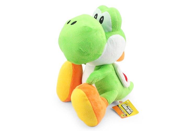 Super Mario Bros Yoshi Plush Doll Toy With Tag Soft Yoshi Doll Kid's Gift 28cm