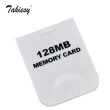 白128メガバイトメモリカード用wii nintendo/ゲームキューブ2043ブロック