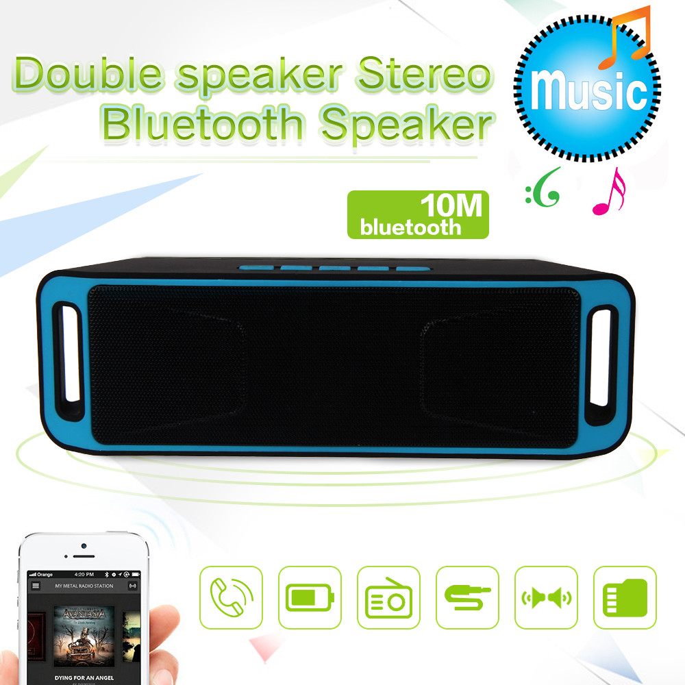 Mini pc accesorios impermeable bluetooth altavoz portátil inalámbrico más nuevo