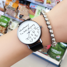 Whatever I Am Late Anyway Creative Watches