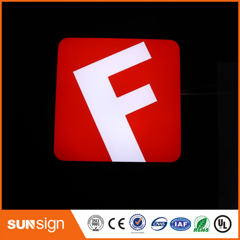 2016 New Arrival Super Brightness SHINY LED SIGN SHOP LOGO AND LETTERS