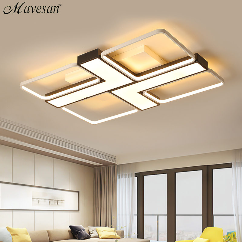 Modern led acrylic lamp ceiling for living room 10-20square meters dimmable Lighting fixtures Plafond home lampe Mavesan Modern led acrylic lamp ceiling for living room 10-20square meters dimmable Lighting fixtures Plafond home lampe Mavesan