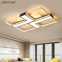 Modern led acrylic lamp ceiling for living room 10 20square meters dimmable Lighting fixtures Plafond home lampe Mavesan