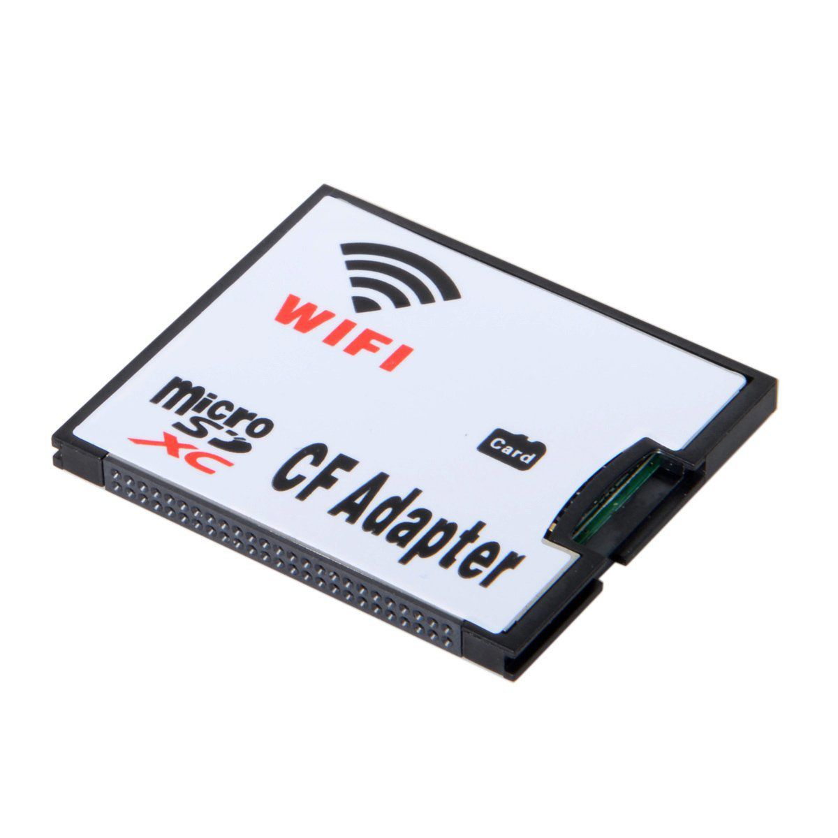 WIFI Adapter Memory Card TF Micro-SD to CF Compact Flash Card Kit for Digital Camera compact flash cf to pc card pcmcia adapter cards reader for laptop notebook z17 drop ship