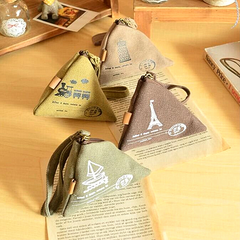 2016 Vintage Cornucopla Zipper Coin Purse Holders Cute Small Money Bag Pouch Retro Wallet For Girls Children Kawaii Bags CA1-003