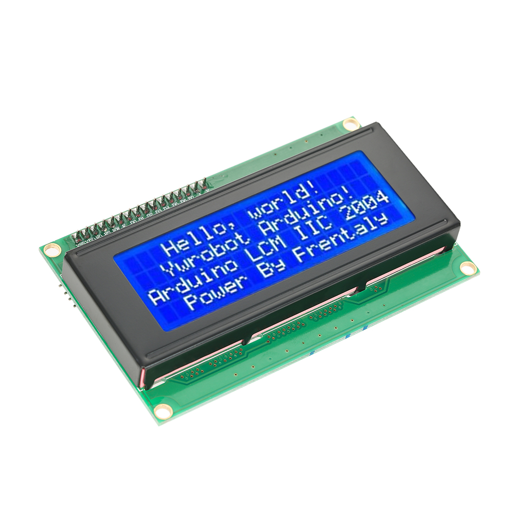 Serial IIC/I2C/TWI 2004 204 20X4 Character Blue LCD Display Module for Arduino